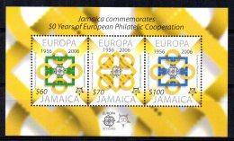 Jamaica - 2005 - 50th Anniversary Of Europa Stamps Miniature Sheet - MNH - Jamaique (1962-...)