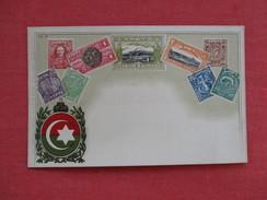 Crete Stamps -- Paper Residue Back     Ref 2765 - Timbres (représentations)