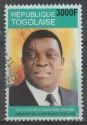 Togo, President Eyadema, 3000f., 2004, VFU - Togo (1960-...)