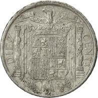 Espagne, 10 Centimos, 1945, TTB, Aluminium, KM:766 - 10 Céntimos