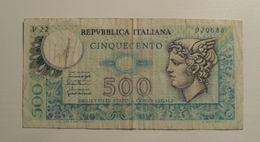 1976 - Italie - Italy - 500 LIRE - V22 920688 - 500 Lire