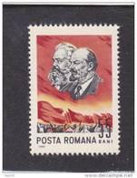 LENINE  & MARX , Yv.#2155 1965 MNH, ROMANIA. - Lénine