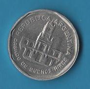 ARGENTINA 1 Austral 1989 KM# 100 Cabildo De Buenos Aires - Argentina