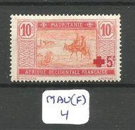 MAU(F) YT 34 ** - Mauritania (1906-1944)