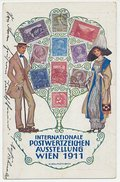 Postal Stationery Austria 1911 Stamp Exhibition Vienna - Stamps - Philately & Coins