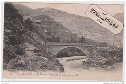 05 La Grave - Cpa / Pont Sur La Romanche. - France