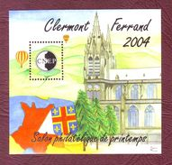 FRANCE Bloc CNEP N° 40 Salon Philatélique De Printemps, à Clermont-Ferrand. - Neufs ** - 2004 - CNEP