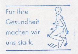 Meter Cut Germany 2002 Jumping Rope - Health - Stamps