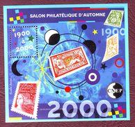 FRANCE Bloc CNEP N° 32 - 54e Salon Philatélique D'Automne, à Paris. - Neufs **  - 2000 - CNEP
