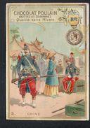 Chocolat Poulain, Les Decorations Francaises Et Etrangeres, N°5 La Medaille De Chine - Poulain