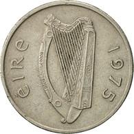 IRELAND REPUBLIC, 5 Pence, 1975, TTB, Copper-nickel, KM:22 - Ireland