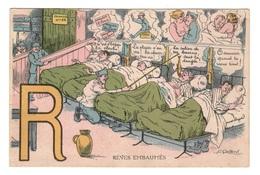 MILITARIA - HUMORISTIQUES Alphabet, R : Rêves Embaumés - Humorísticas