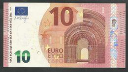 """NB"" 10  EURO GEM UNC! Draghi Signature!! Printer  N015E5! - 10 Euro"