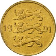 Estonia, 10 Senti, 1991, No Mint, SUP, Aluminum-Bronze, KM:22 - Estonia