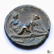 "Roma - "" Sprintia "" - Sexual Coin - Coin XIII - S. I-II DC. (Very Rare) - 1. Die Julio-Claudische Dynastie (-27 / 69)"