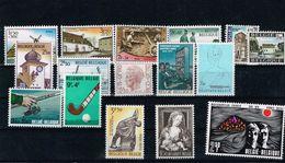 Lot Belg 1970 Postfris** - Ongebruikt