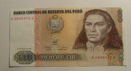 1987 - Pérou - Peru - 500 INTIS, 26 De Junio De 1987, A 46404720 - Pérou