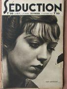 Séduction N°157 (31 Oct 1936) Femmes Nues - L'école De La Séduction - Boeken, Tijdschriften, Stripverhalen