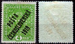 Cecoslovacchia-027- 1919 - Y&T N. 60 (+) LH - Senza Difetti Occulti. - Cecoslovacchia