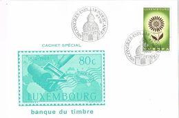 26761. Tarjeta Luxembourg 1981. Congres Mondercange. Tema Europa - Lettres & Documents