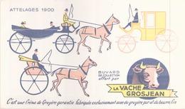 Buvard La Vache Grosjean Crème De Gruyère 20 X 12 Cm - Dairy