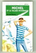 """Bibliothèque Verte N°223 - Michel - Georges Bayard  - """"Michel Et La Falaise Mystérieuse"""" - 1992 - Bibliothèque Verte"""