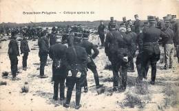 Brasschaat-Polygone - Critique Après Le Tir - Brasschaat