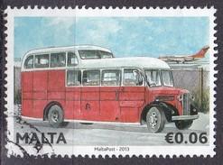 Malta, 2013 -  6c Airport Bus - Nr.1492 Usato° - Malta