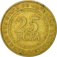 États De L'Afrique Centrale, 25 Francs, 2006, Paris, TB+, Laiton, KM:20 - Cameroon