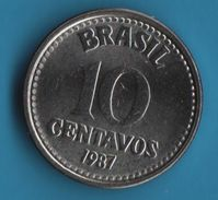 BRASIL 5 CENTAVOS 1987 - Brazil