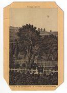 Héliogravure Pelliculée Imprimée Sur Carton ?/Orthodoxe/Palestine/Jérusalem/Garden Of Gethsemane/ Vers 1880    GRAV259 - Other
