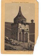 Héliogravure Pelliculée Imprimée Sur Carton ?/Orthodoxe/Palestine/Jérusalem/Tomb Of Absalom/ Vers 1880    GRAV262 - Other