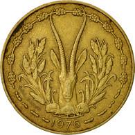 West African States, 10 Francs, 1976, TTB+, Aluminum-Nickel-Bronze, KM:1a - Ivory Coast