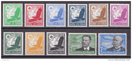 Mü_ Deutsches Reich - Mi.Nr. 529 - 539 - Postfrisch MNH - Deutschland