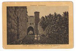 Héliogravure Pelliculée Imprimée Sur Carton ?/Orthodoxe/Palestine/Jérusalem/The Tower St Antonia/ Vers 1880    GRAV266 - Other