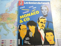 Les Dossiers Du Canard N°20Juillet 1986 Monaco & Co - Politica