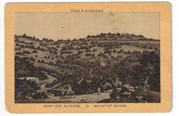 Héliogravure Pelliculée Imprimée Sur Carton ?/Orthodoxe/Palestine/Jérusalem/Mount Of Olives  / Vers 1880    GRAV269 - Other