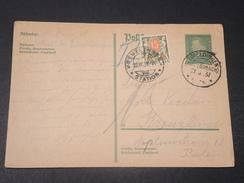 ALLEMAGNE - Entier Postal De Eimeldingen Pour La Suisse En 1931 Et Taxe De Kreuzlingen - L 10596 - Deutschland