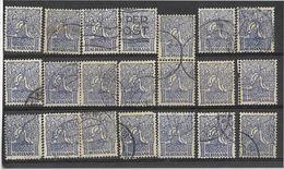 _3L-299:  Restje Van  21 Zegels:   N° 110 ...... Verder Uit Te Zoeken.. - 1891-1948 (Wilhelmine)
