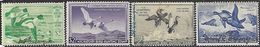 US  1949-52   Sc#RW16-9   $2 Geese & Ducks Hunting Stamps Used  2016 Scott Value $60 - Ducks