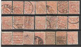 _3L-298:  Restje Van  21 Zegels:   N° 111 ...... Verder Uit Te Zoeken.. - 1891-1948 (Wilhelmine)