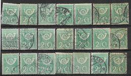 _3L-296:  Restje Van  21 Zegels:   N° 112 ...... Verder Uit Te Zoeken.. - 1891-1948 (Wilhelmine)
