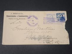HONDURAS - Enveloppe Commerciale De Puerto Cortes Pour New Orléans En 1900 - L 10606 - Honduras