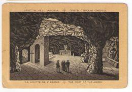 Héliogravure Pelliculée Imprimée Sur Carton?/Orthodoxe/Palestine/Jérusalem/The Grot Of The Agony/Vers 1880       GRAV283 - Other