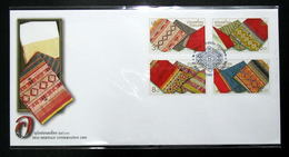 Thailand Stamp FDC 2000 Thai Heritage Conservation Day - Thailand