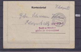 "SLOVENIA 1944, KARTENBRIEF, FELDPOST 23 977, CANCEL "" SENT BACK TO SENDER, FALLEN FOR THE GREAT GERMANY, See Scans - Allemagne"