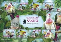 Samoa  Vogels - Duiven En Duifachtigen