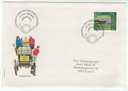 Suisse /Schweiz/Svizzera/Switzerland // FDC // 2014 //  Le Messager De Lindau  No.1525 1er Jour - FDC