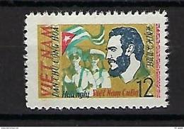 """Viet-Nord YT 316 """" Amitiés Avec Cuba, Fidel Castro """" 1963 Neuf** - Viêt-Nam"""