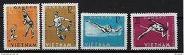 "Viet-Nord YT 345 à 348 "" Jeux Sportifs "" 1963 Neuf** - Vietnam"